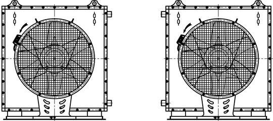 Технические характеристики воздушно-отопительных агрегатов АО2