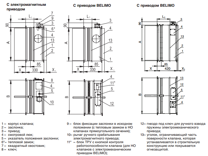Схема конструкции КЛОП-2