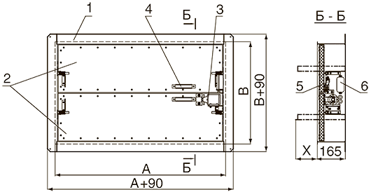 Схема конструкции клапана КЛОП®-3 с электромагнитным приводом